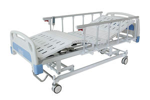 Low price high quality THREE FUNCTIONS ELECTRIC CARE BED Hospital bed suppliers