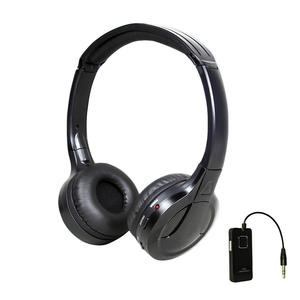 2.4GHz Portable Digital Wireless Headphones Flat