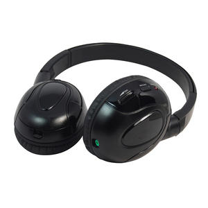 Dual-Channel IR Headphones For In-Car Video Wireless Listening