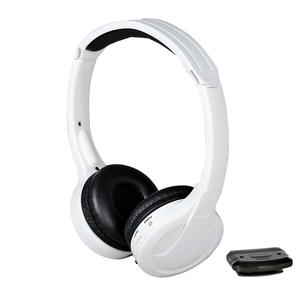 Universal Single-Channel IR Wireless Headphones For TV Listening