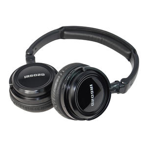 Automotive Dual-channel Folding IR Wireless Headphones For In-Car Video Listenning