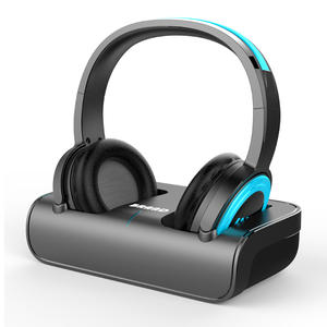 2.4Ghz Wireless TV Headphone With Charging Dock/Transmitter