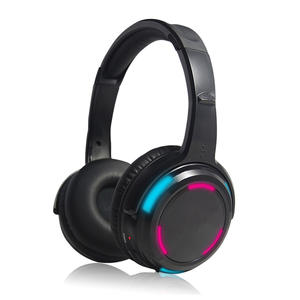 Hi-Fi Stereo Bluetooth Headphone With LED On-Ear
