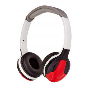 Universal Dual-Channel IR Wireless Headphones for In-Car Video Listening