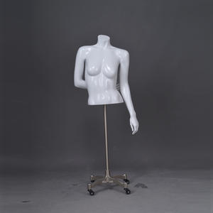 Half body female mannequin muscle female half torso mannequin