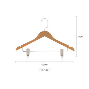Shirt black/white wooden types clothes hangers best skirt hangers