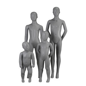 Customized display children mannequin abstract boys manikin for clothing display(IH 1-10 years old child mannequin)