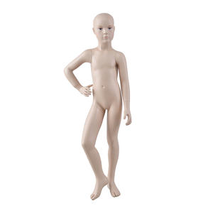Wholsale child mannequin display realistic fiberglass dispaly mannequins for sale(KMO)