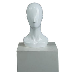 Cheap factory price fashion mannequin head with shoulder for sale(
