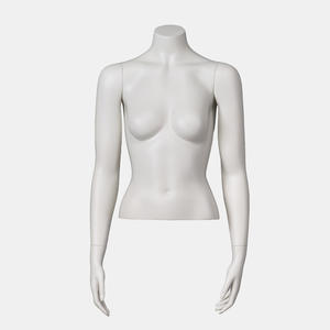 Customized Matte White Mannequins Female Half Body With Stand (ABH)