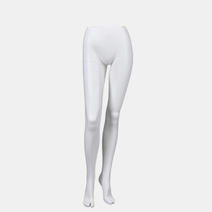 Matte White Fashion Half Leg Mannequin For Trousers(IBH)