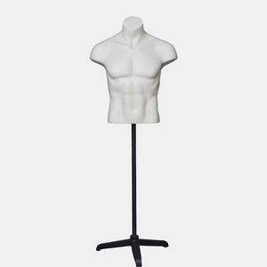 Customized mannequin male torso half leg mannequin for pants display(NBH)Customized mannequin male torso upper body mannequin for clothes display(OBH)