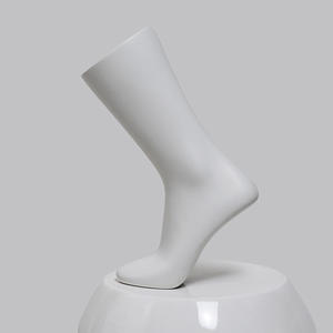 Customized White Female Foot Mannequin For Sock Display(DF)
