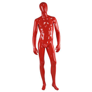Customized high glossy vintage black male mannequin display mannequins sale