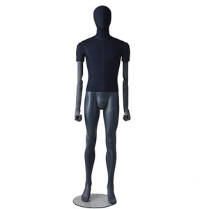 High Quality Full Body Fabric Mannequin Male Fashion Dummy With Adjustable Hand On Sale(IM)