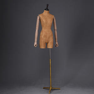 Customized Leather Finished Tailor Mannequin Torso Dress Manikin (FDM)