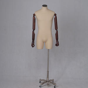 High Quality Fabric Covered Business Suit Mannequin Flexible Male Mannequin  (AFM)