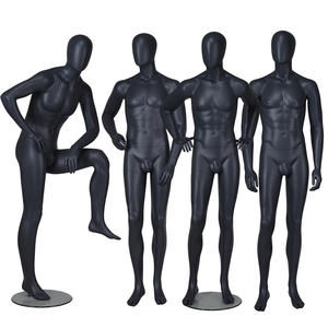 High quality fashion model mannequin black male model mannequin for sale (ETM)