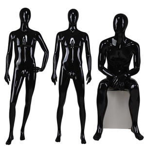 Shop Man Business Suit Black Cool Male Abstract Male Mannequins(EDG)