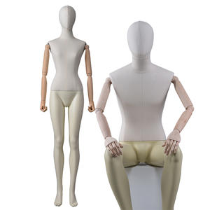 High quality Flexible Mannequin for Window Display Full Body Fabric Mannequin Female And male Mannequin For Sale(EWM)