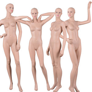 Custom Realistic Sex Mannequin Fiberglass Poseable Type Of Sexy Makeup Female Mannequin Mold For Boutique(MF)