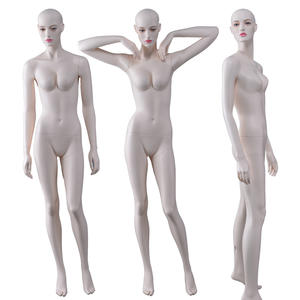 Fashion new high glossy fiberglass female manikin sexy lifelike mannequin for sale