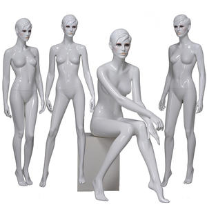 Sexy nude female mannequin makeup lifelike mannequin lady wholesale(PPL series makeup mannequin for sale)