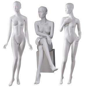 180cm height abstract high quality glossy ladies nude female full body mannequins full body mannequins for sale