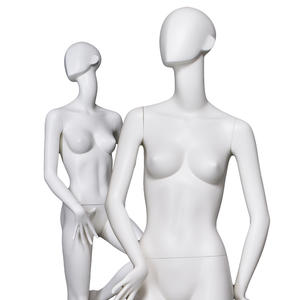 European size abs female mannequin white high quality abstract face mannequins yoga and dancing sexy pose female mannequin for display