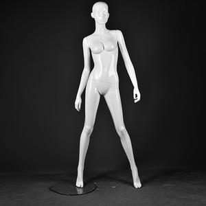 Life size fashion manikin glossy white sitting female mannequin full body jewelry display set(AFF series Sitting Female Mannequin)