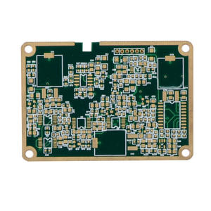 EMS OEM Edge plated 6L Blind-buried Vias PCB Board