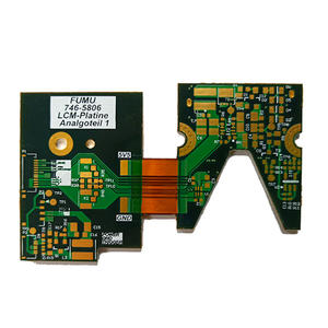 6L Flex Rigid PCB Board ENIG F for Tele-communication