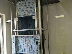 High quality Hotel Kitchen Vertical Food Elevator Machine manufacturer