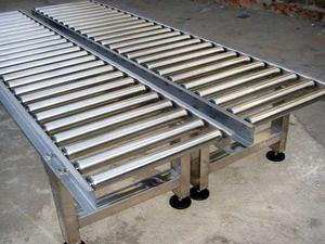 Stainless Steel Frame Gravity Roller Conveyor