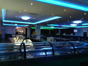 Professional Double layer heating and cooling sushi conveyor manufacturer