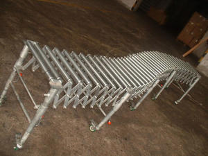 Flexible Gravity Waterproof Stainless Steel Conveyor