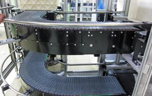 Flat Top Chain Conveyor Belt
