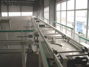 Chain Belt Conveyor For Production Line