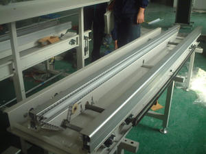 Customized Double speed chain belt conveyor factory