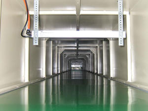 best seller of Automatic Painting Coating Line Tunnel curing furnace manufacture