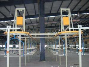 OEM industrial overhead chain conveyor for product transmission factory