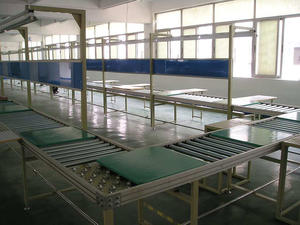 Automatic Circulating Assembly Line Conveyor Belt