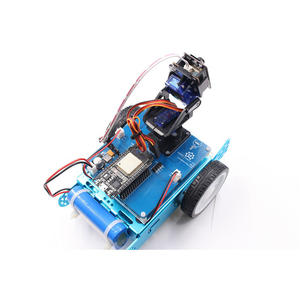 ESP32 Mobile WIFI Camera Robot Car - Makerfabs