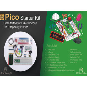 Raspberry Pi Pico Starter Kit, for MicroPython Programming - Makerfabs