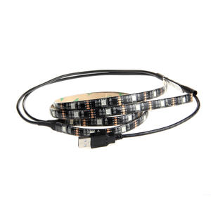 DC5V USB 5050RGB Waterproof Addressable Flexible Pixel Artnet DMX LED Strip Light