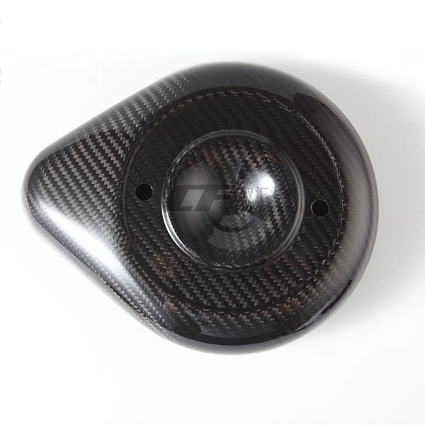 Motorcycle's Carbon Fiber air inlet cover