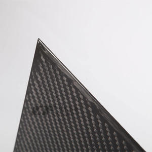 Low cost Rectangle Carbon Fiber Plate factory