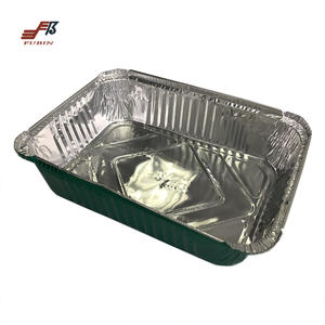 FB56 Disposable Rectangle Aluminum Foil Loaf Pan And Aluminum Foil Container