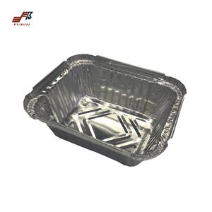 FB4280 Airline Rectangle Aluminum Foil Container