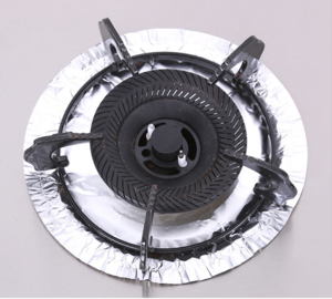 FB Aluminum Gas Stove Foil Liner //Disposable Bib Liner For Oven FOIL STOVE FOIL LINER